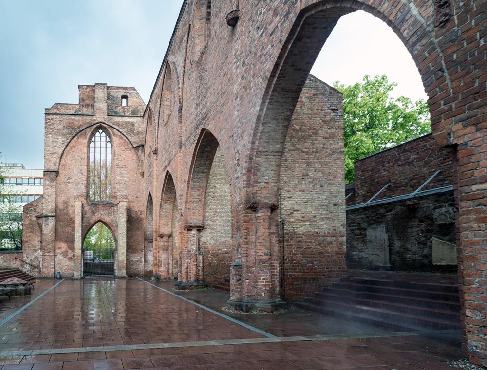 Neue Perspektiven für die Ruine der Franziskaner Klosterkirche