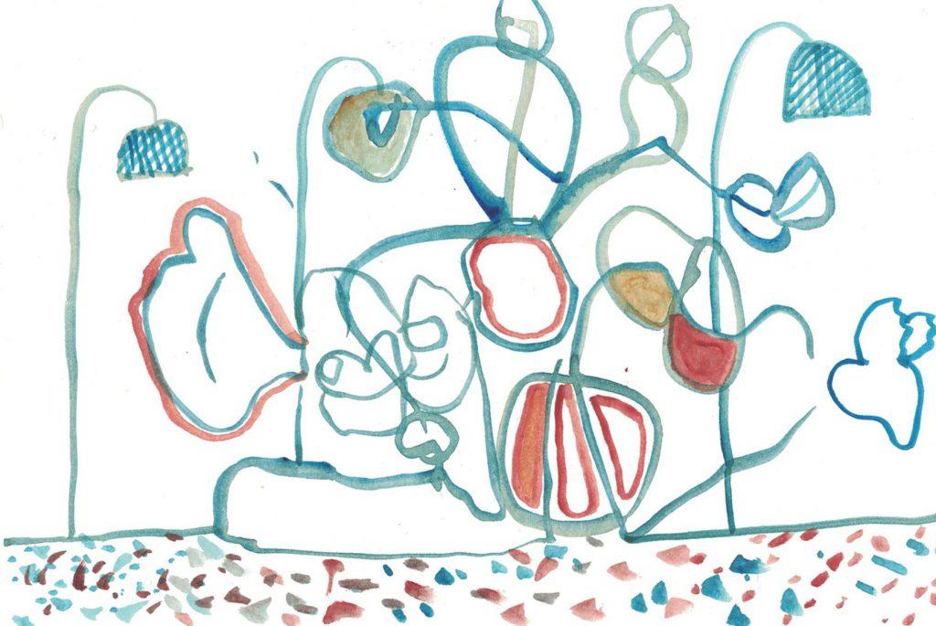 Zeichnung: Monika Rinck