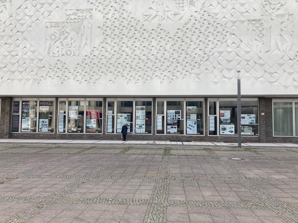 Entwürfe für die Sozialistische Moderne – Kunst im Stadtraum Karl-Marx-Allee